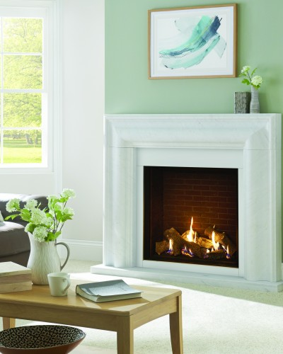 Riva2 750 HL brick effect  in Grafton Mantel