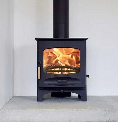 Charnwood-C-Five-Multi Fuel-Stove-black
